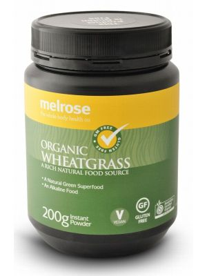 MELROSE Wheatgrass Powder Organic 200g