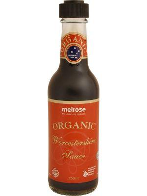 MELROSE Worcestershire Sauce Organic 250ml