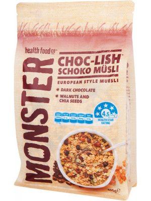 MONSTER HEALTH FOOD CO Muesli Choc-Lish Schoko Musli 405g
