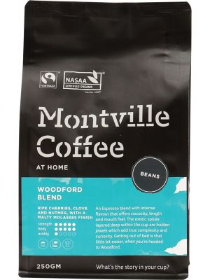 MONTVILLE COFFEE Coffee Beans Woodford Blend 250g