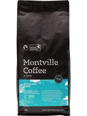 MONTVILLE COFFEE Coffee Beans Woodford Blend 1kg