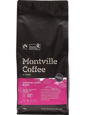 Montville Coffee Coffee Ground Sunshine Coast Blend For Espresso 1kg