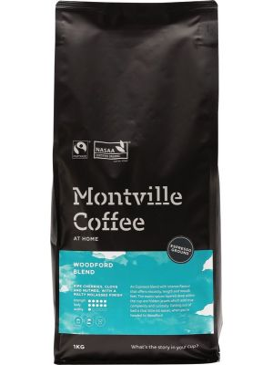MONTVILLE COFFEE Coffee Ground (Espresso) Woodford Blend 1kg