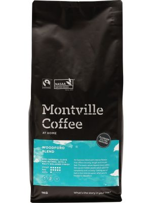 MONTVILLE COFFEE Coffee Ground (Plunger) Woodford Blend 1kg