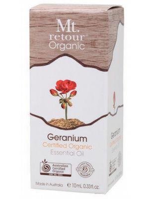 Mt Retour Geranium Oil 10ml