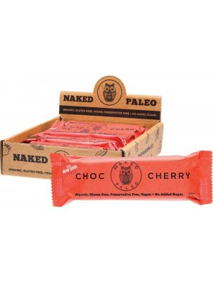 NAKED PALEO Paleo Bars Choc Cherry 10x65g