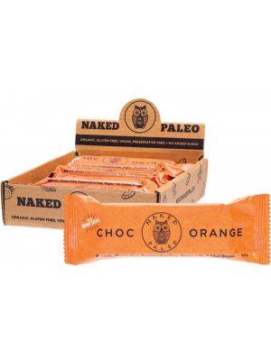 NAKED PALEO Paleo Bars Choc Orange 10x65g