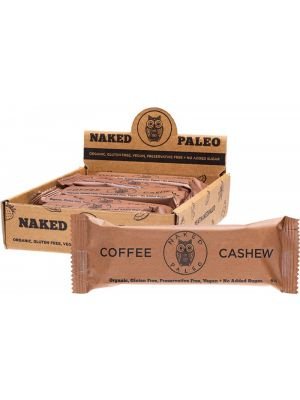 NAKED PALEO Paleo Bars Coffee Cashew 10x65g