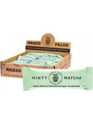 NAKED PALEO Paleo Bars Minty Matcha 10x65g