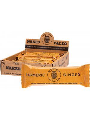 NAKED PALEO Paleo Bars Turmeric Ginger 10x65g