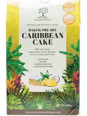 NATURAL EVOLUTION Caribbean Cake Mix 486g