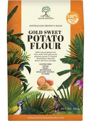 NATURAL EVOLUTION Gold Sweet Potato Flour 300g