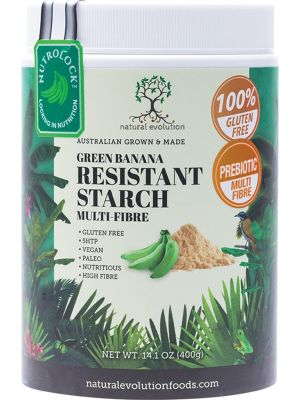 NATURAL EVOLUTION Green Banana Starch (Resistant) 400g