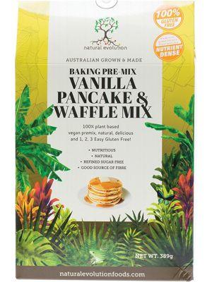 NATURAL EVOLUTION Vanilla Pancake & Waffle Mix 389g