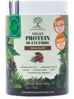 NATURAL EVOLUTION Vegan Protein Multi-Fibre Chocolate 400g