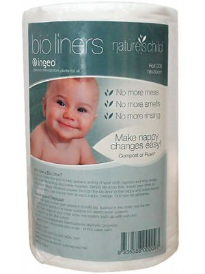 Nature's Child Baby Bio Liners 200 liners