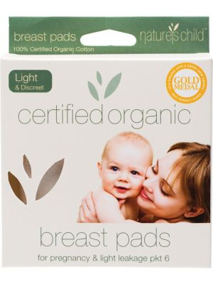 Nature's Child Light Breast Pads 6 pack