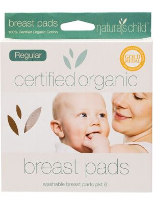 Nature's Child Regular Breast Pads 6 pack