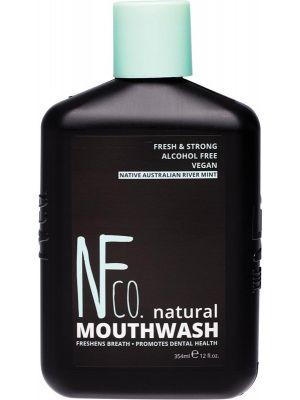 NFCO Natural Mouthwash Native Australian River Mint 354ml