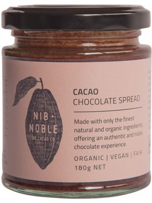 NIB AND NOBLE Chocolate Spread Cacao 180g