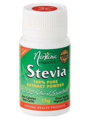 Nirvana Organics Stevia Extract Powder 15g