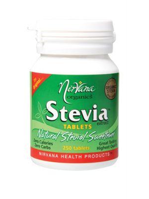 Nirvana Organics Stevia Tablets 250 tabs