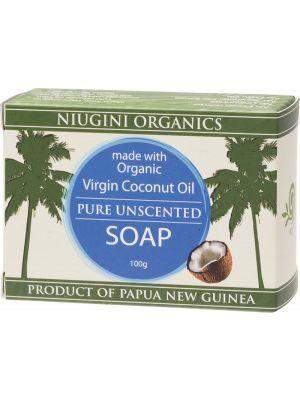 NIUGINI ORGANICS Pure Coco. Oil Soap 100g