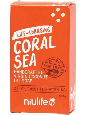 NIULIFE Coconut Oil Soap Coral Sea 100g