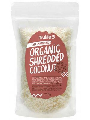NIULIFE Shredded Coconut 250g
