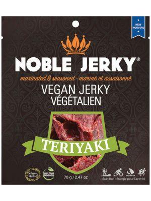 NOBLE JERKY Vegan Jerky Teriyaki 70g