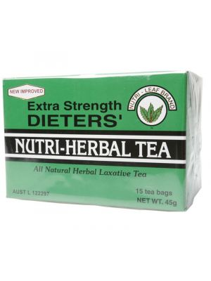 NUTRI-LEAF Dieter's Tea Extra Strength Tea Bags 15 bags