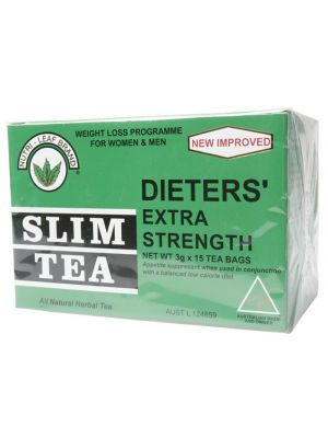 NUTRI-LEAF Slim Tea Extra Strength Tea Bags 15 bags