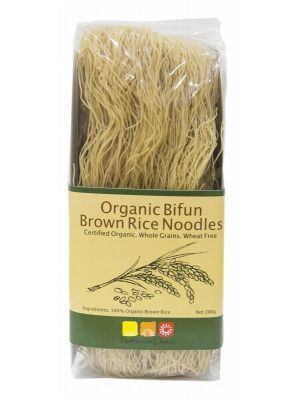 NUTRITIONIST CHOICE Rice Noodles Brown 200g