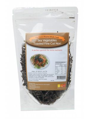 NUTRITIONIST CHOICE Toasted Fine Cut Nori 25g