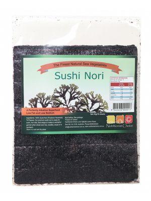 NUTRITIONIST CHOICE Sushi Nori 10 Sheets 25g