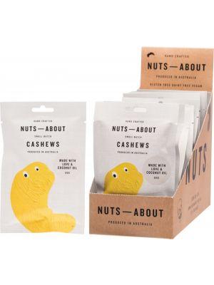 NUTS ABOUT Cashews Original 12x50g