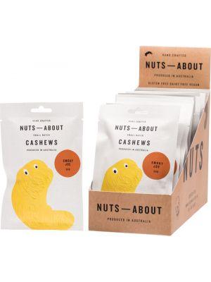NUTS ABOUT Cashews Smoky Joe 12x50g