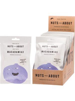 NUTS ABOUT Macadamias Original 12x50g