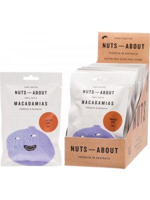 NUTS ABOUT Macadamias Smoky Joe 12x50g