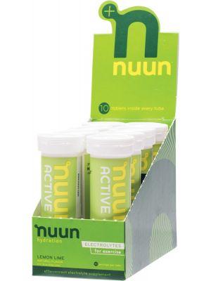 NUUN Lemon + Lime Electrolytes 8x10Tabs