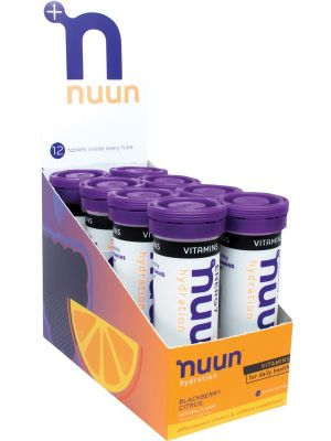 NUUN Vitamins - With Electrolytes Tablets - Blackberry Citrus 8x12Tab