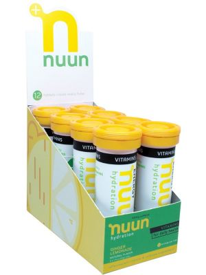 NUUN Vitamins - With Electrolytes Tablets - Ginger Lemonade 8x12Tab
