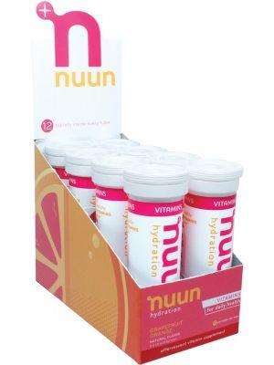 NUUN Vitamins - With Electrolytes Tablets - Grapefruit Orange 8x12Tab