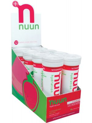 NUUN Vitamins - With Electrolytes Tablets - Strawberry Melon 8x12Tab