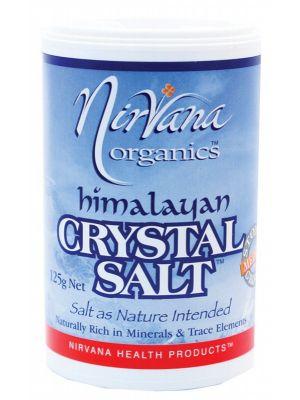 Nirvana Organics Fine Himalayan Salt Shaker 125g