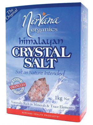 Nirvana Organics Granular Himalayan Salt 1kg