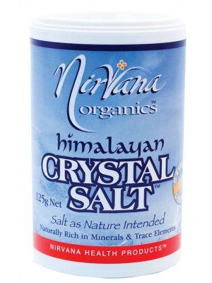 Nirvana Organics Medium Himalayan Salt 125g
