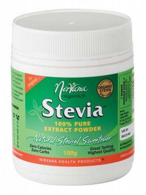 Nirvana Organics Stevia Extract Powder 100g