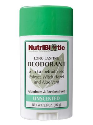 Nutribiotic Unscented Deodorant 75g