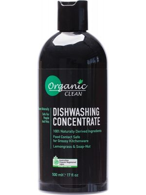 ORGANIC CLEAN Dishwashing Concentrate Lemongrass & Soap-Nut 500ml